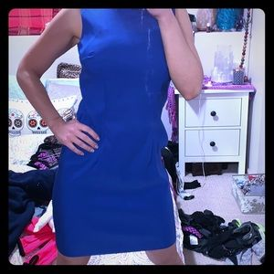 Simple Royal Blue Dress!